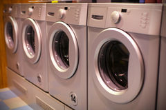 Washing machines Royalty Free Stock Photos