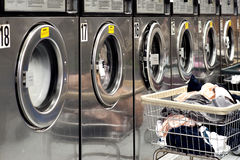 Washing machines stock images