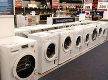 Washing machines Stock Photo