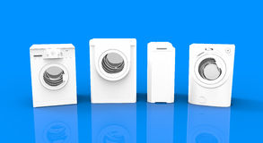Washing machines. Choice for a washing machine Stock Photos