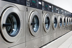Washing Machines Stock Image