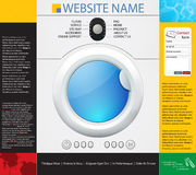 Washing machines design template Stock Photography