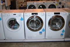 Washing Machines for Sale Royalty Free Stock Image