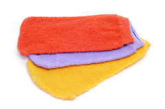 Washing mitts Royalty Free Stock Photography