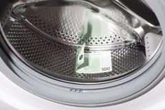 Washing of money. Royalty Free Stock Images