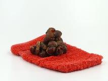 Washing nuts Royalty Free Stock Image