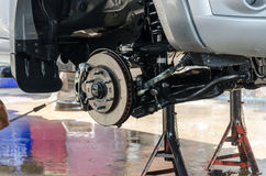 Washing pick-up suspension Royalty Free Stock Photo