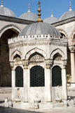 Washing place in Blue Mosque Royalty Free Stock Photo