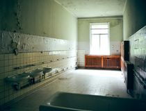 Washing place by the time Royalty Free Stock Photography