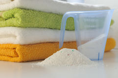 Washing powder for colored fabric Royalty Free Stock Photos