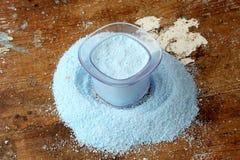 Washing powder or laundry detergent Stock Photo