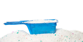 Washing powder in a measuring cup Stock Photography