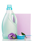 Washing powder near detergent isolated Stock Photography