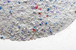 Washing powder texture Stock Photos