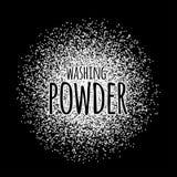 Washing powder vector illustration Royalty Free Stock Images