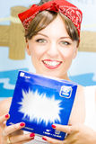 Washing Powder Woman Royalty Free Stock Photos