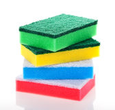 Washing sponge Royalty Free Stock Photography