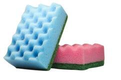 Washing sponge Royalty Free Stock Images