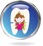 Washing teeth Royalty Free Stock Image