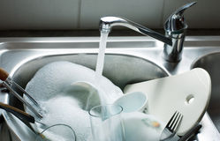 Washing-up Royalty-vrije Stock Fotografie