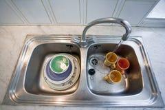 Washing-up bowl Stock Photo
