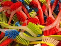 Washing-up brushes Royalty Free Stock Photos