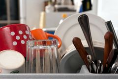 Washing-up Royalty Free Stock Photos