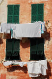 Washing, Vernazza 1 Stock Image
