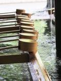 Washing water at Japanese Shrine Stock Photography