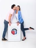 Washing Royalty Free Stock Image