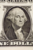 Washington. On a $1 bill royalty free stock photo