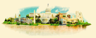 washington Imagem de Stock Royalty Free