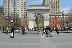 Washington Arch in New York City Royalty Free Stock Photo