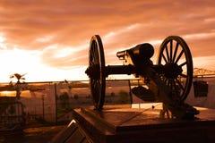 Washington Artillery Park Foto de archivo