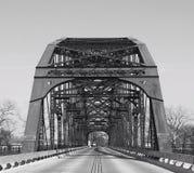 Washington Avenue Bridge em Waco Texas Foto de Stock