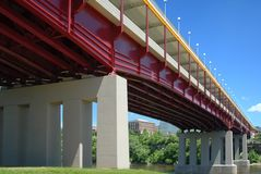 Washington Avenue Bridge. Stock Image