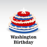 Washington Birthday Illustrazione Vettoriale