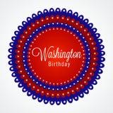 Washington Birthday Image libre de droits