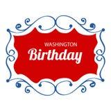 Washington Birthday Immagine Stock Libera da Diritti