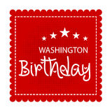 Washington Birthday Fotografia Stock Libera da Diritti