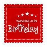 Washington Birthday Photographie stock libre de droits