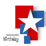 Washington Birthday Immagini Stock