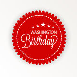 Washington Birthday Royalty Illustrazione gratis