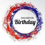 Washington Birthday Image stock