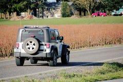 Washington Border Patrol Vehicle Stock Photography
