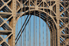 Washington Bridge Detail. Stock Images
