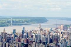 Washington Bridge, NYC royalty free stock images