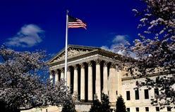 Washington, C.C : Court suprême des Etats-Unis Photographie stock libre de droits