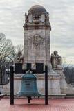 Washington, C C - 10 DE ENERO DE 2014: Monumento de Christopher Columbus en Washington Imagen de archivo libre de regalías