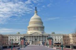 Washington, C C - 10 DE JANEIRO DE 2014: Washington Capitol imagens de stock royalty free